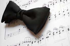 Black Bow Tie on Music